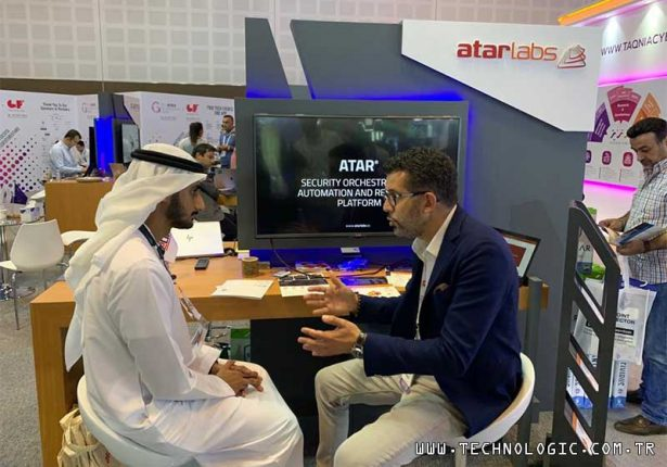 Siber güvenlik robotu ATAR ATAR Labs