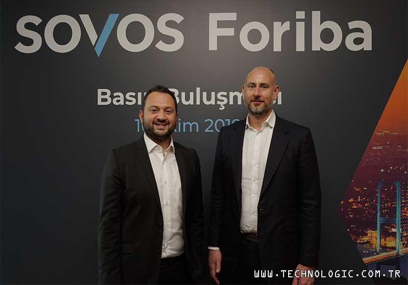 Sovos Foriba CEO'su Koray Gültekin Bahar ve Sovos Avrupa Yönetici Direktörü James Buckley