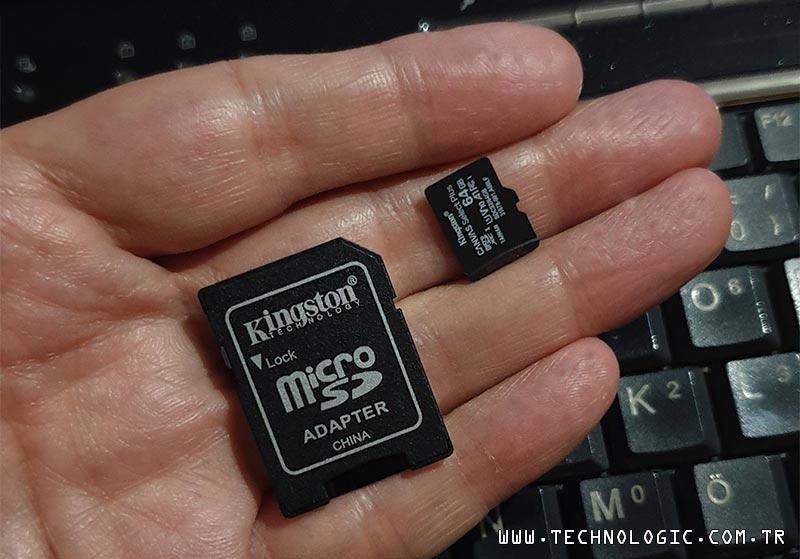 Kingston Canvas Select Plus microSD kart