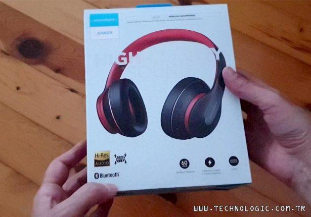Anker Soundcore Life Q10 Bluetooth Kulaklık kutu açılışı