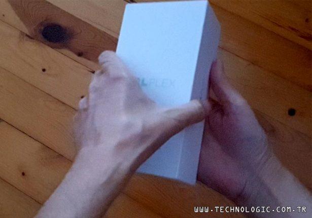TCL Plex kutu açılışı