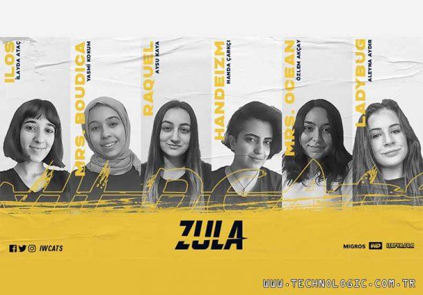Zula kadın takımı