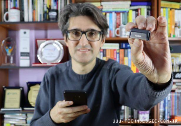 SanDisk Ultra Dual Drive USB Type-C incelemesi