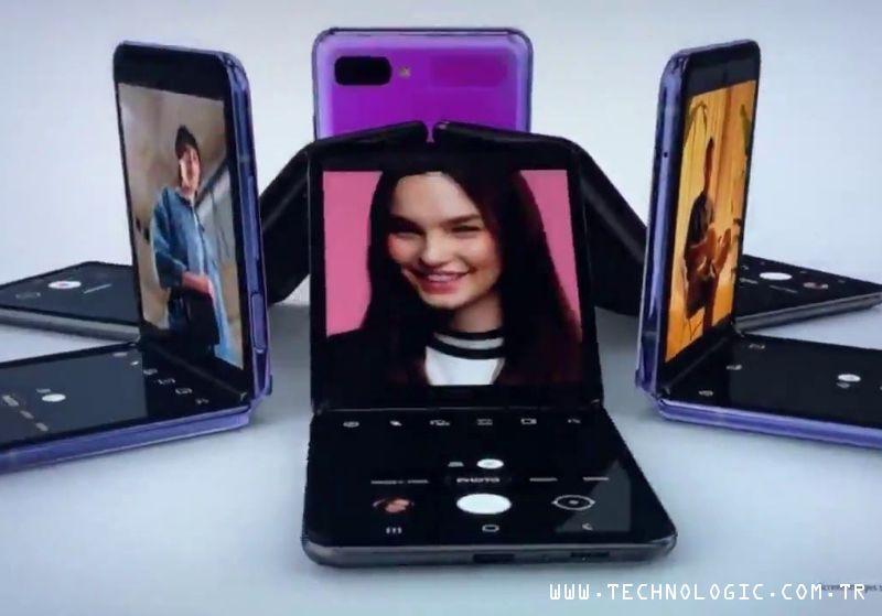 Galaxy Z Flip Koronavirüs akıllı telefon