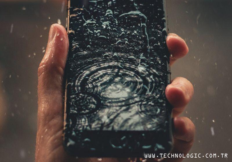 Telefonunuz ıslandığında