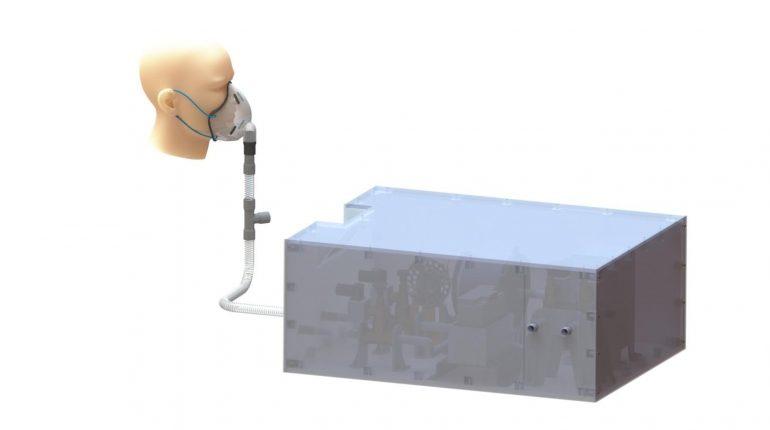 taşınabilir solunum cihazı