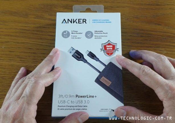 şarj kablosu Anker PowerLine
